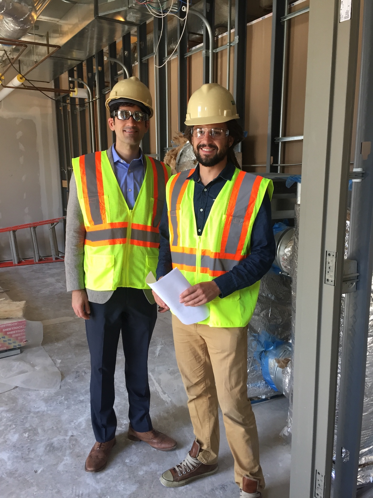 Construction Workers from Patti Lab